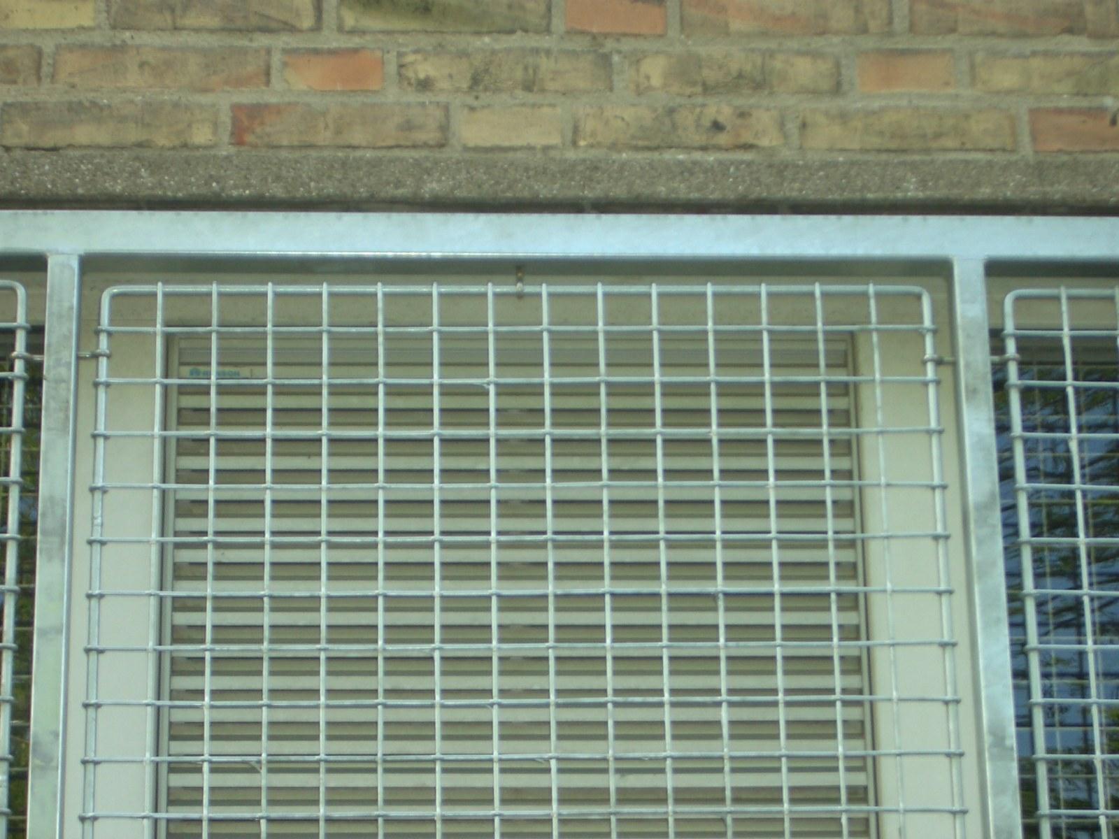 Sikkerhedsgitter vindue