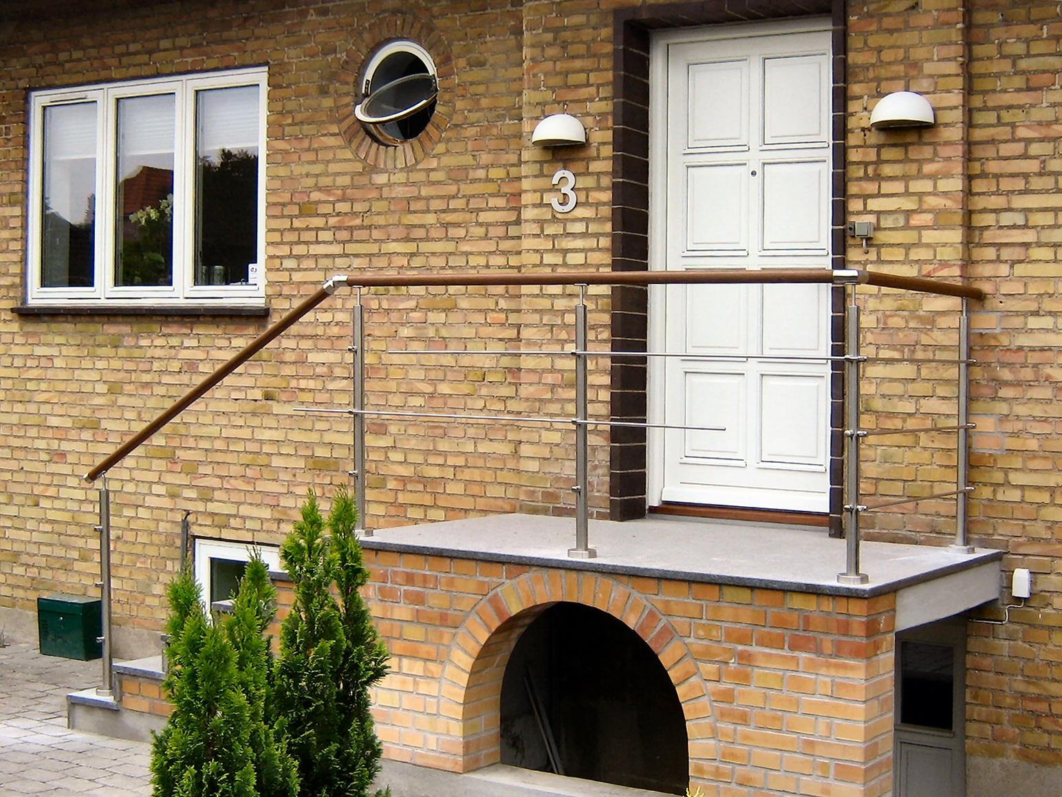 Hems rækværk,hems gelænder,på indskudt etage,hems rækværk ...