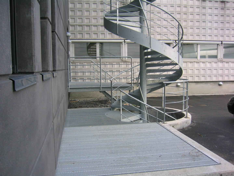 Spindeltrapper, Flugtvejstrappe Brandtrappe Spindeltrapper ...