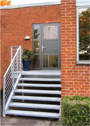 Udvendig trappe stål