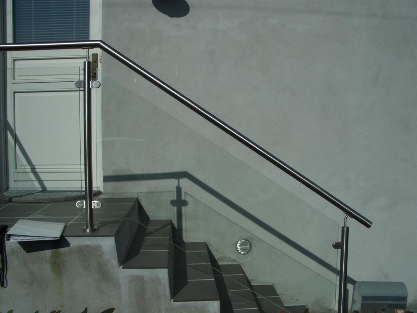 Crosinox udendørs trappegelænder rækværk: Ballustre,medløber ...