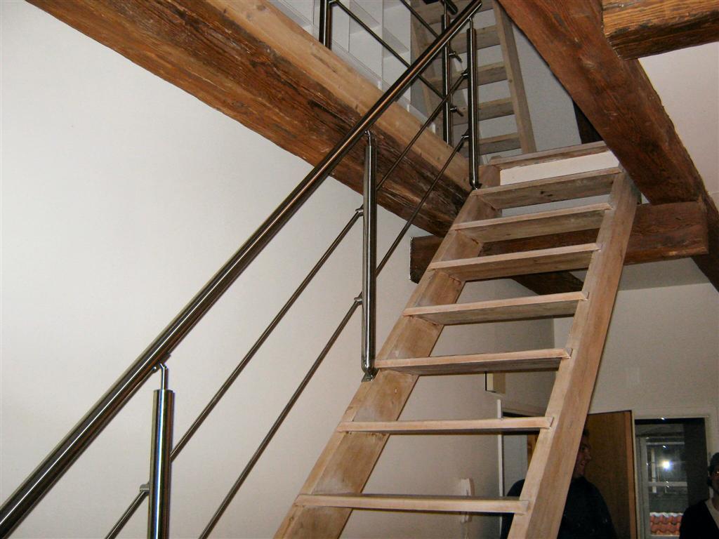 gelænder rækværk og håndliste i rustfrit stål