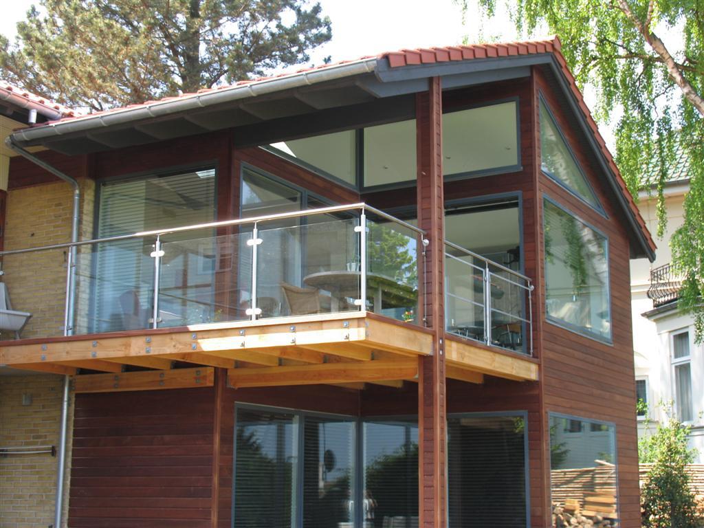 Terrasse,Altan:Gelænder,Rækværk,Crosinox,udendørs,MONTERING ...