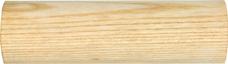 Gelænder Håndliste Rundstok i ASK: Håndliste i 45mm ASK - Gelænder Træ Rundstok