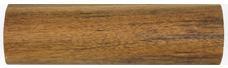 Gelænder Håndliste Rundstok i TEAK: Håndliste i 45mm TEAK - Gelænder Træ Rundstok