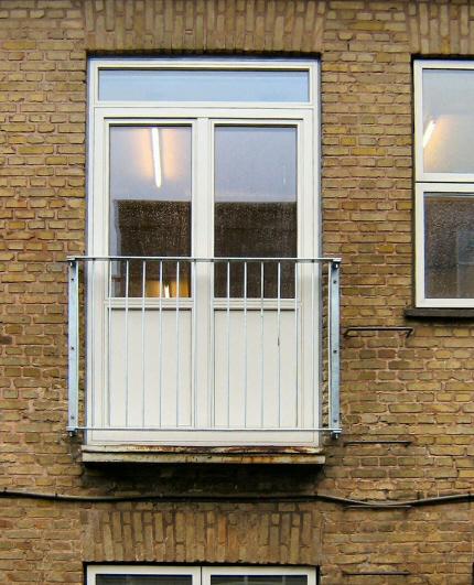 UdendØrs,glas,tag terrasse,tag terrasse,mat glas,rækværk,crosinox ...