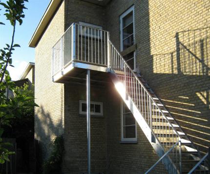 ståltrappe udendørs pris